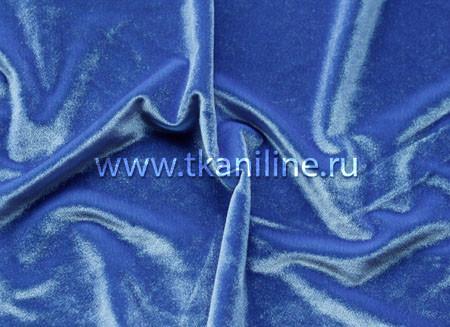 Бархат-стрейч-голубой-арт.-602641-№4