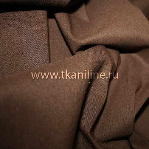 Габардин-коричневый