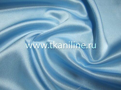 Креп-сатин-светло-голубой