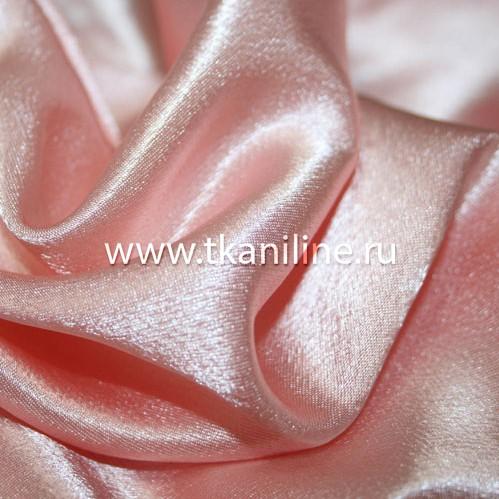 Креп-сатин светло розовый 603191 №3