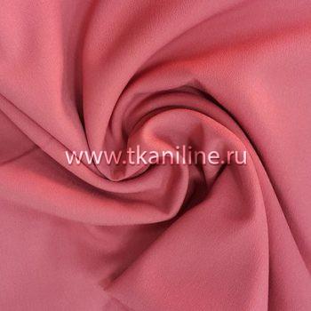 Креп-шифон грязно-розовый 602988 №3