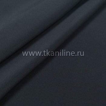 Кул-жоржет блузочная ткань-темно-синий-черно-синий-602696