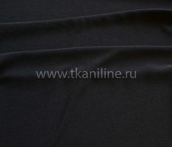 Кул-жоржет блузочная ткань-черный
