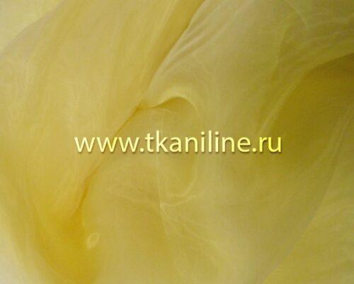 Органза-бледно-желтая-690487-№10