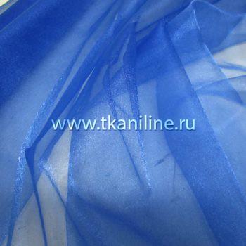 Органза-синяя-василек