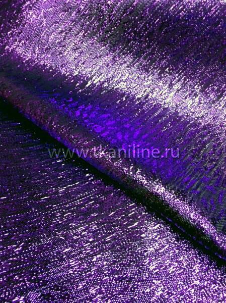 Парча-топаз-фиолетовая