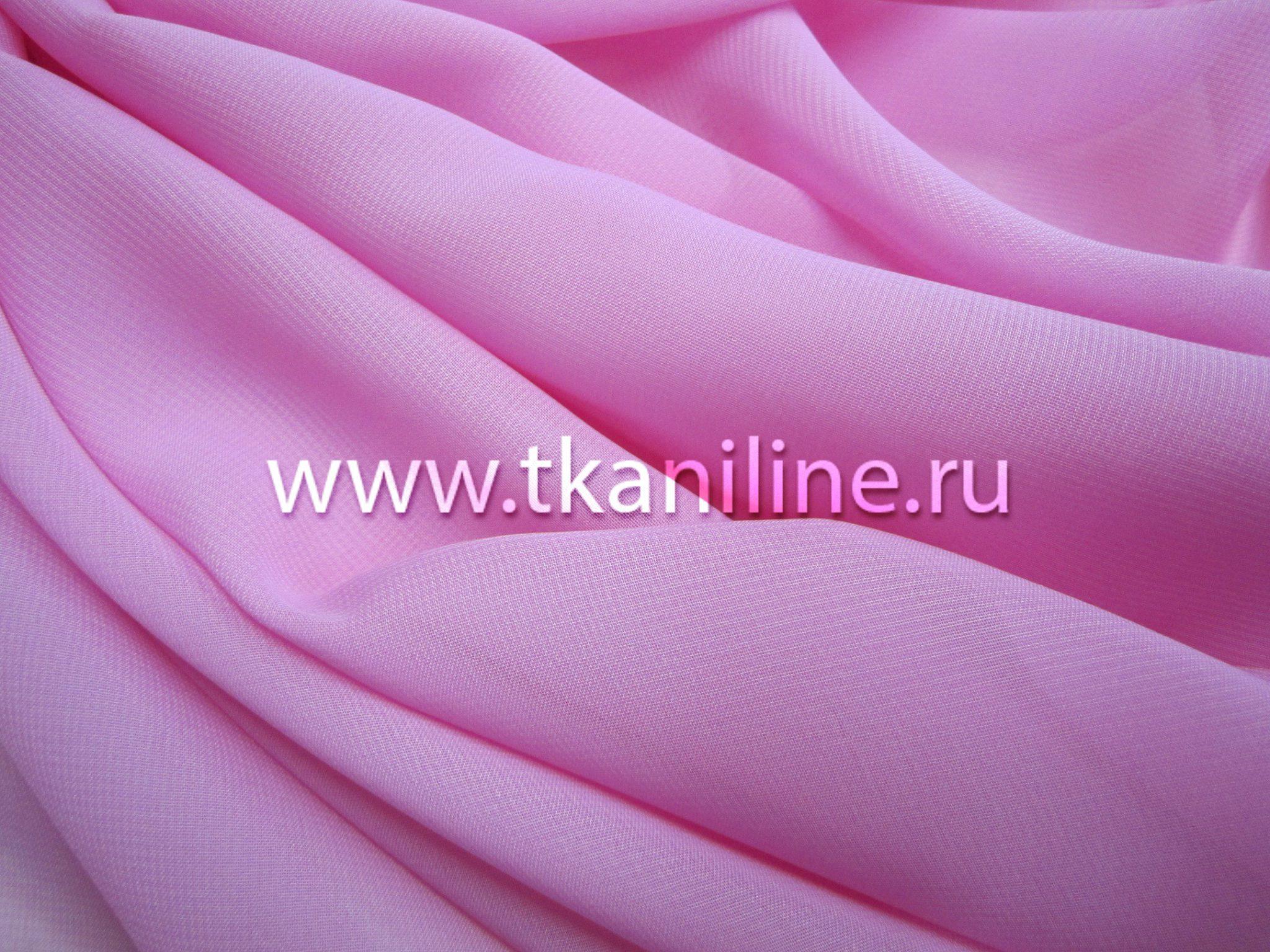 Шифон-розовый-арт.-602579
