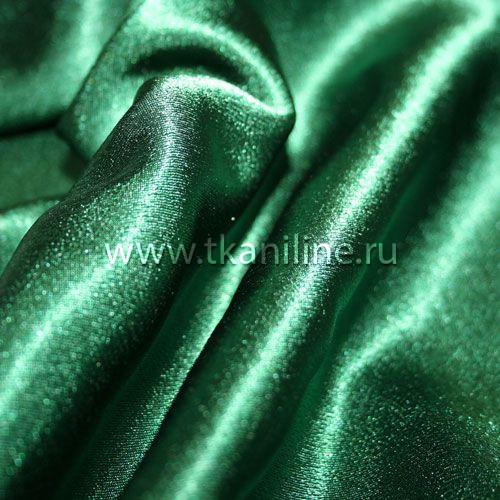 креп-сатин-темно-зеленый