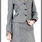 деловой костюм из поливискозы