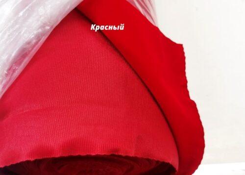 бархат сувенирный красный