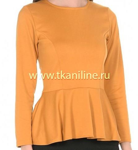 Блуза из трикотажа Академик