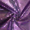 Сетка с паетками (копейка) фиолетовая