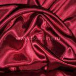 креп сатин бордовый
