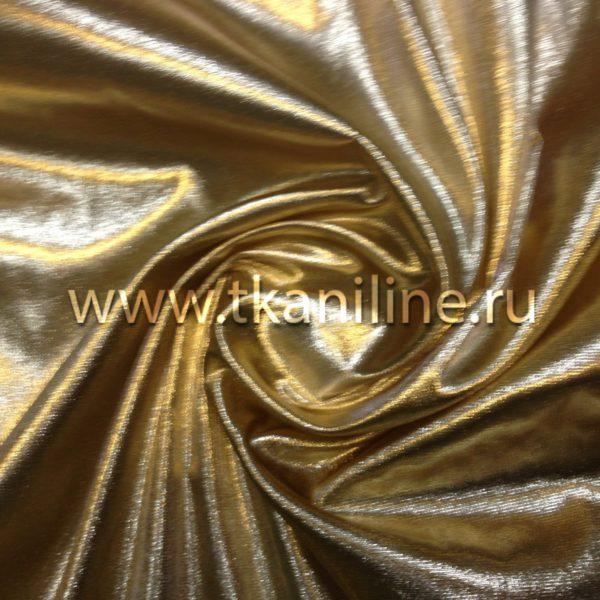 парча фольга (парча диско) золотая