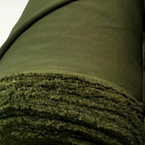 Ткань костюмная Пикачо хаки