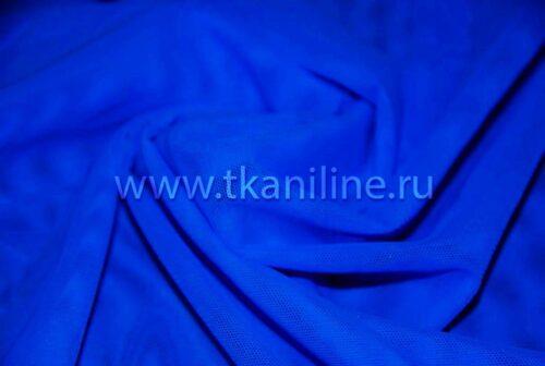 сетка стрейч василек (синяя)