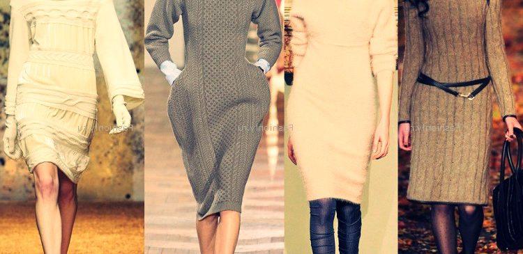 Зимняя трикотажная мода 2013