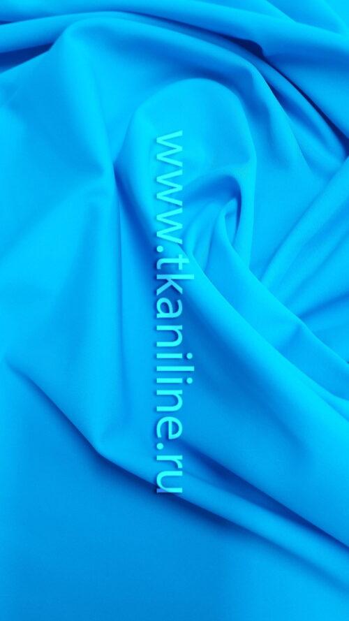 Бифлекс матовый ярко-голубой