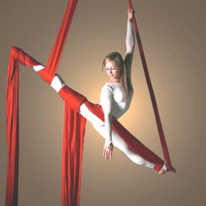 Гимнастика на воздушных полотнах
