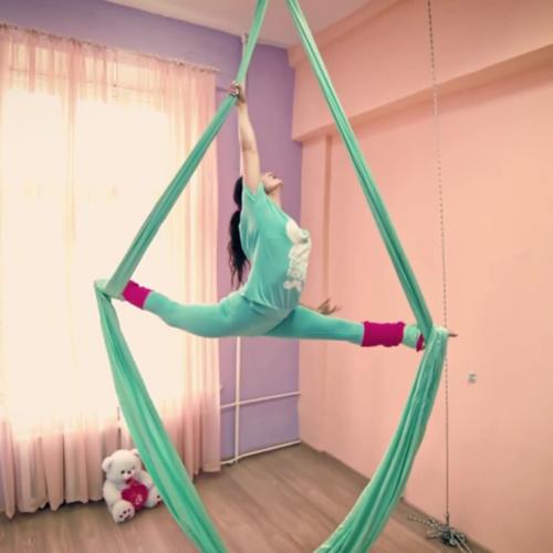 ткани для гимнастики на воздушных полотнах
