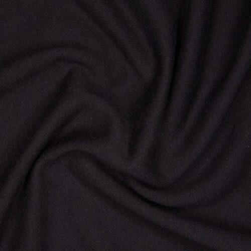 Футер 3х нитка б/н 90хб-к/10пэ 330гр 180см черный