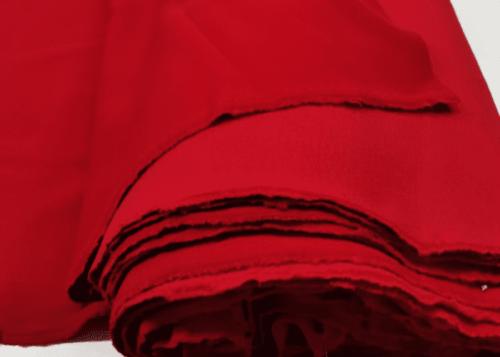 футер 3 нитка начес красный