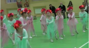 Танцевальные платья для девочек из фатина