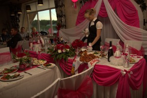 Нежные розовые цвета свадтбы