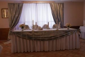 Серебряная парча фольга для оформления свадебного зала