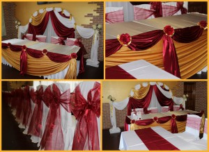 Ткань органза для украшения свадьбы