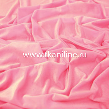 Бархат-стрейч-розовый-арт.-602720-№1