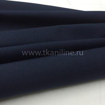 Габардин-темно-синий