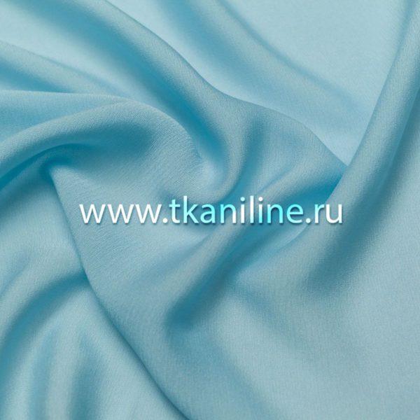 Креп-жоржет светло-голубой 603210 №9