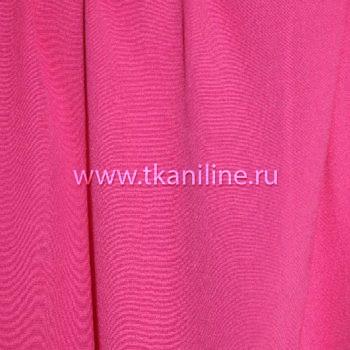 Креп-жоржет-ярко-розовый