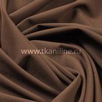 Ткань Пикачо-коричневый