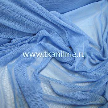 Сетка-стрейч-голубая