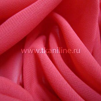 Шифон-красный-501367