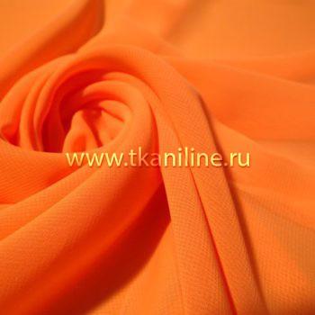 Шифон-оранжевый-неон-603106-№15-1