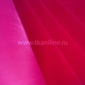 бархат сувенирный светло-бордовый