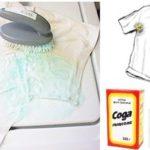 Удаляем загрязнения ткани