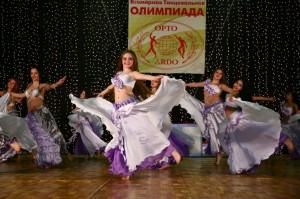 Танцевальные костюмы для девочек из шифона